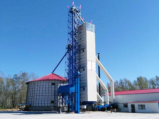宝泉农场300吨水稻烘干项目